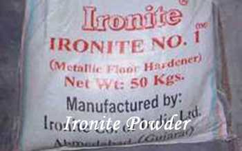 ironite floor Powder